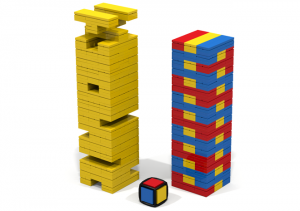 LEGO solved the Jenga problem. With LEGO.